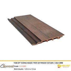 Tấm ốp tường ngoài trời Skywood CO128R | 128x13mm