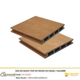 Sàn gỗ nhựa ngoài trời Skywood DK13825B | 138x25mm