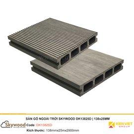 Sàn gỗ nhựa ngoài trời Skywood DK13825D | 138x25mm
