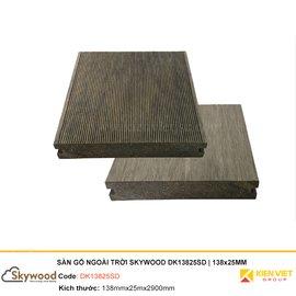 Sàn gỗ nhựa ngoài trời Skywood DK13825SD | 138x25mm