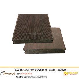 Sàn gỗ nhựa ngoài trời Skywood DK13825SR | 138x25mm