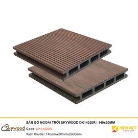 Sàn gỗ nhựa ngoài trời Skywood DK14020R | 140x20mm