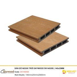 Sàn gỗ nhựa ngoài trời Skywood DK14025B | 140x25mm
