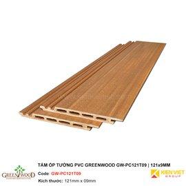 Tấm ốp tường PVC Greenwood PC121T9 | 121x9mm