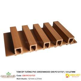 Tấm ốp tường PVC Greenwood GW-PC121T27 | 121x27mm