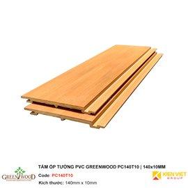 Tấm ốp tường PVC Greenwood GW-PC140T10 | 140x10mm