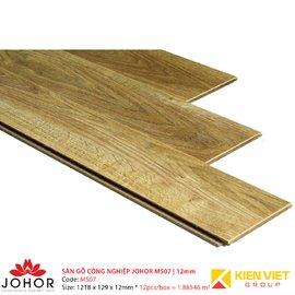 Sàn gỗ công nghiệp Johor MS07   12mm