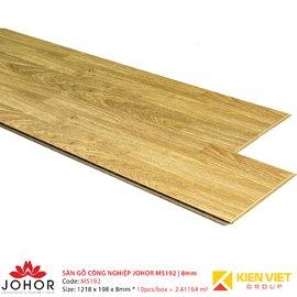Sàn gỗ công nghiệp Johor MS192 | 8mm