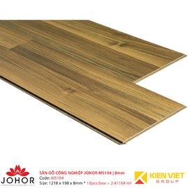 Sàn gỗ công nghiệp Johor MS194 | 8mm