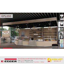 Sàn gỗ Egger Pro Aqua Plus EPL050 Black Corton Oak