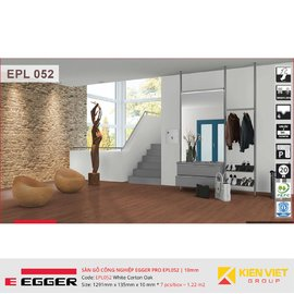 Sàn gỗ Egger Pro EPL052 White Corton Oak | 10mm