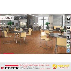 Sàn gỗ Egger Pro EPL071 Red Drayton Elm | 8mm