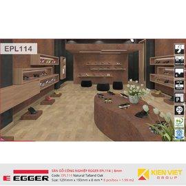 Sàn gỗ Egger Pro EPL114 Natural Talland Oak | 8mm