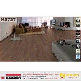 Sàn gỗ Egger Classic H2727 Northland Oak Cognac   8mm
