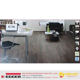 Sàn gỗ Egger Classic H2731 Amiens Oak Dark   8mm