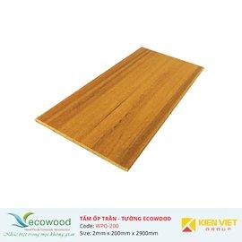 Tấm ốp tường trần EcoWood WPO-200 | 2x200mm
