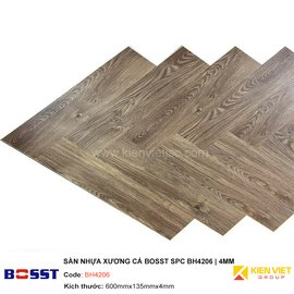 Sàn nhựa xương cá Bosst SPC BH4206 | 4mm