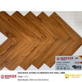 Sàn nhựa xương cá Morser SPC FB03 | 4mm