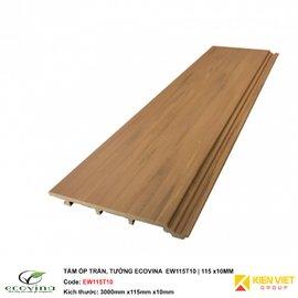 Tấm ốp trần tường Ecovina EW115T10 | 115x10mm