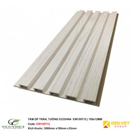 Tấm ốp trần tường Ecovina EW159T12| 159x12mm