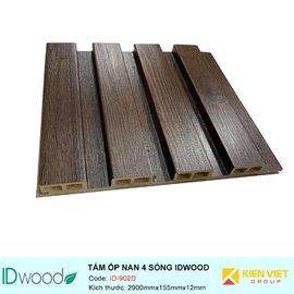 Tấm ốp nan 4 sóng ID Wood ID-902D | 155mmx12mm