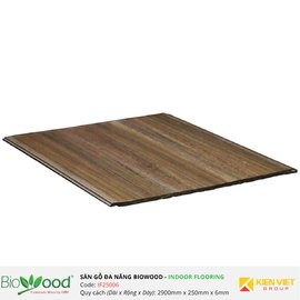 Sàn gỗ composite 250x6mm Biowood IF25006