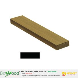 Vật liệu gỗ tường 50x16mm Biowood WP05016