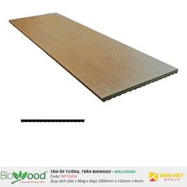 Vật liệu gỗ tường 102x4mm Biowood WP10204