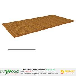 Vật liệu gỗ tường 600x8mm Biowood WP60008