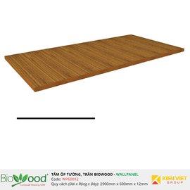 Vật liệu gỗ tường 600x12mm Biowood WP60012