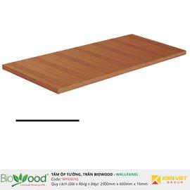 Vật liệu gỗ tường 600x16mm Biowood WP60016