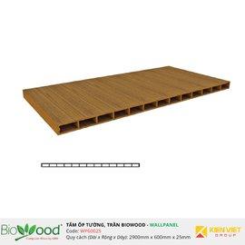 Vật liệu gỗ tường 600x25mm Biowood WP60025