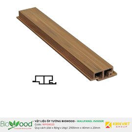 Ốp tường gỗ 40x20mm Biowood WPI04020