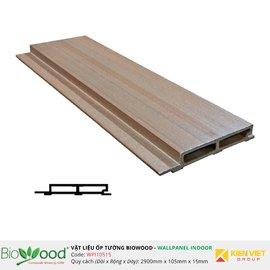 Ốp tường gỗ 105x15mm Biowood WPI10515