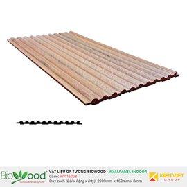 Ốp tường gỗ 160x8mm Biowood WPI16008