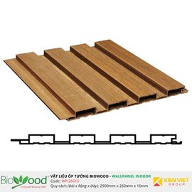 Ốp tường gỗ 260x16mm Biowood WPI26016