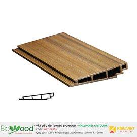 Gỗ ốp tường 120x16mm Biowood WPO12016