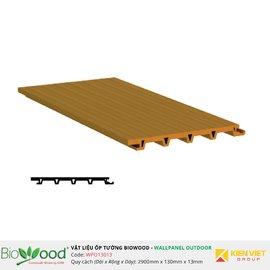 Gỗ ốp tường 130x13mm Biowood WPO13013
