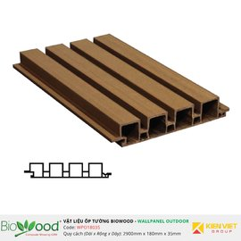 Gỗ ốp tường 180x35mm Biowood WPO18035