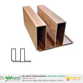 Gỗ ốp tường 200x150mm Biowood WPO200150