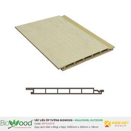 Gỗ ốp tường 200x18mm Biowood WPO20018
