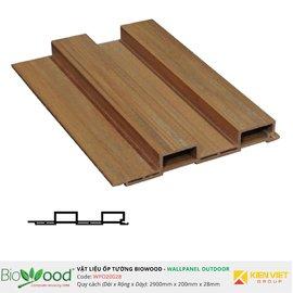 Gỗ ốp tường 200x28mm Biowood WPO20028