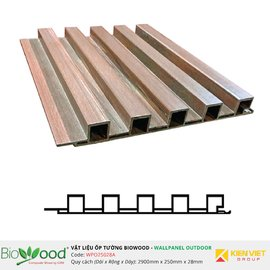 Gỗ ốp tường 250x28mm Biowood WPO25028A