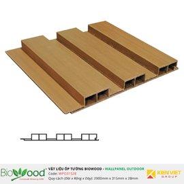 Gỗ ốp tường 315x28mm Biowood WPO31528