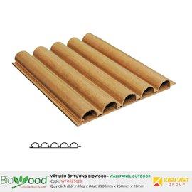 Gỗ ốp tường 250x28mm Biowood WPOR25028