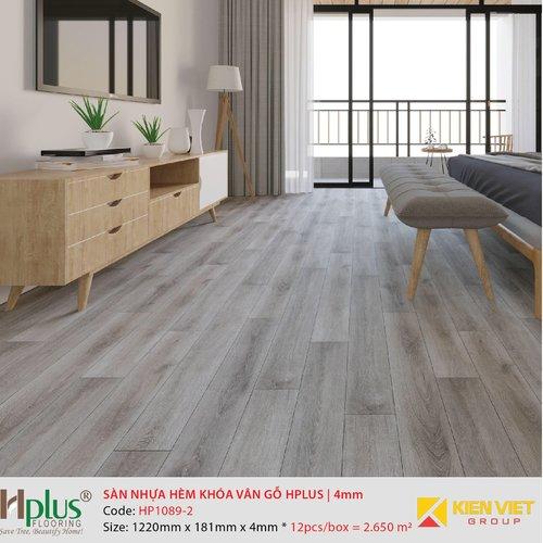 Sàn nhựa hèm khóa vân gỗ HPlus HP1089-2 | 4mm
