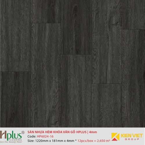 Sàn nhựa hèm khóa vân gỗ HPlus HP6024-16 | 4mm
