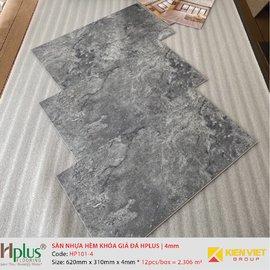 Sàn nhựa hèm khóa giá đá HPlus HP101-4   4mm