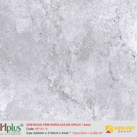 Sàn nhựa hèm khóa giá đá HPlus HP101-9   4mm
