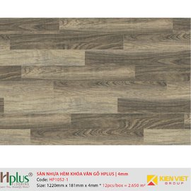 Sàn nhựa hèm khóa vân gỗ HPlus HP1052-1 | 4mm